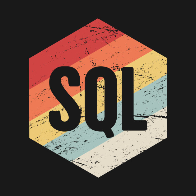 Retro SQL Programming Icon