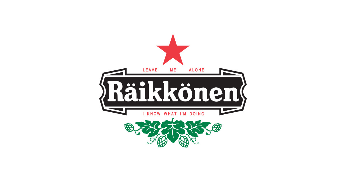 raikkonen logo leave me alone i know what im doing