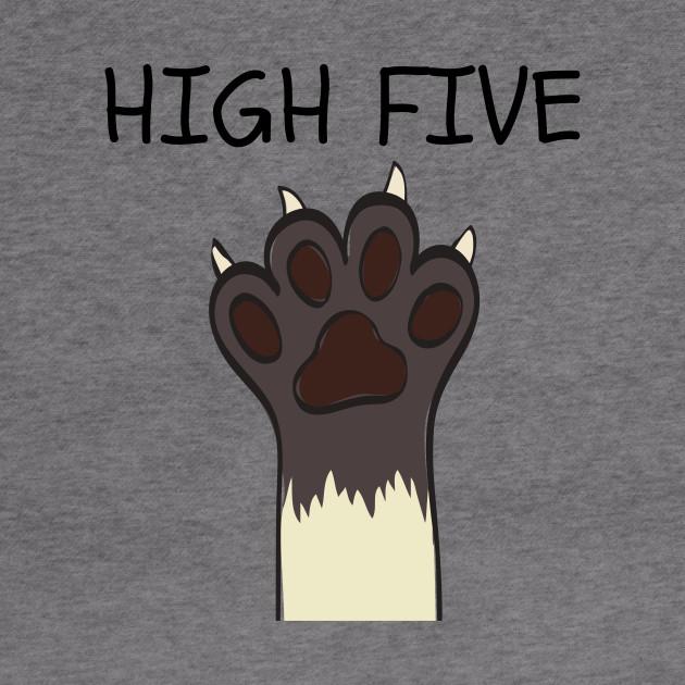 Cats High Five Hoodie