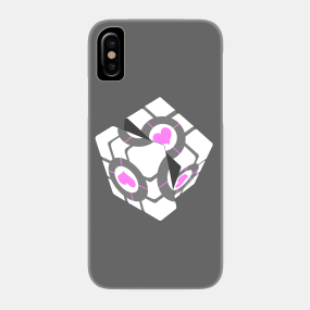 Weighted Companion Cube Phone Cases - iPhone and Android | TeePublic