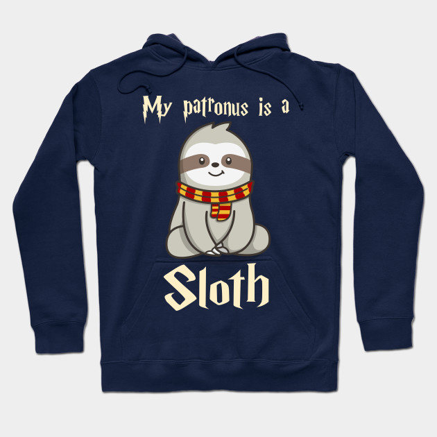 17cc76828 My Patronus Is A Sloth T-Shirt Cute Funny Sloths Lover Gift - Harry ...