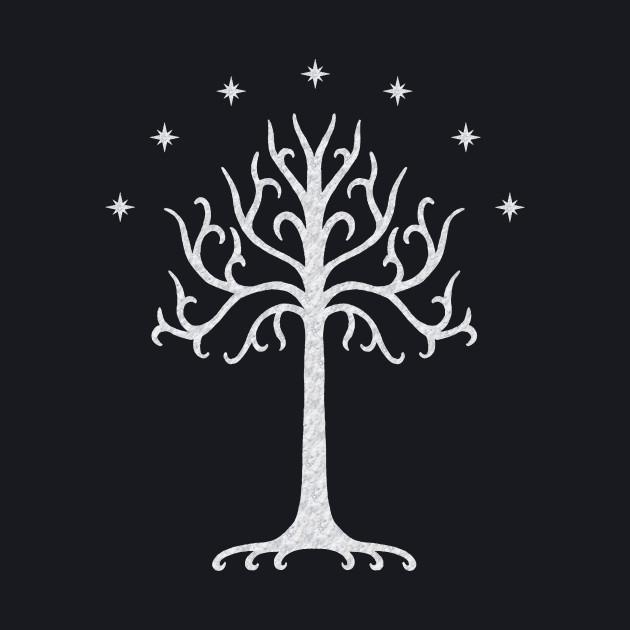 White Tree of Gondor (marbled)