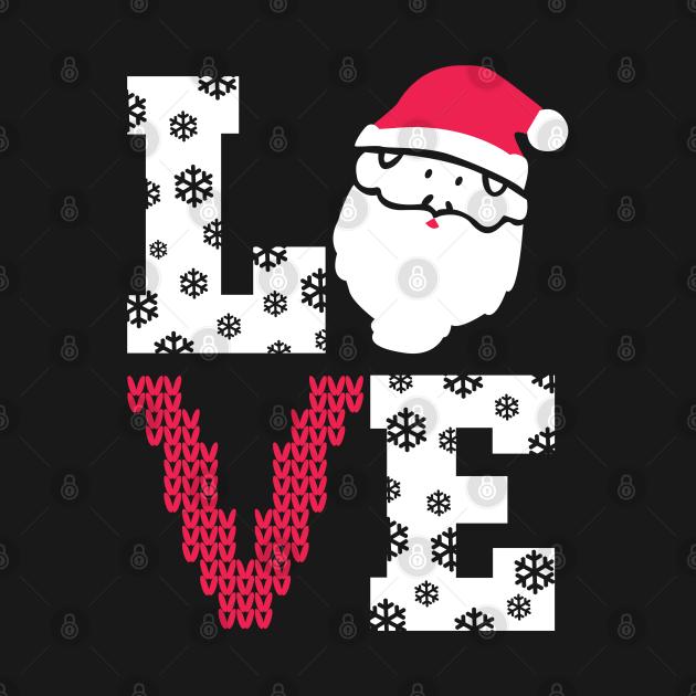 Love Christmas. Love Santa.