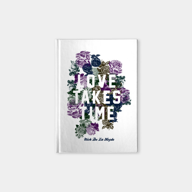 Love Takes Time Flowers_white