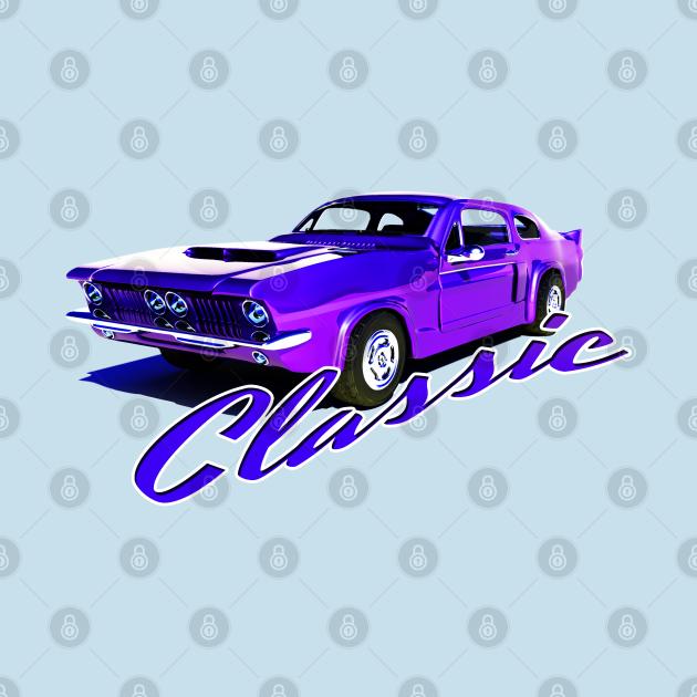 Purple Classic Car