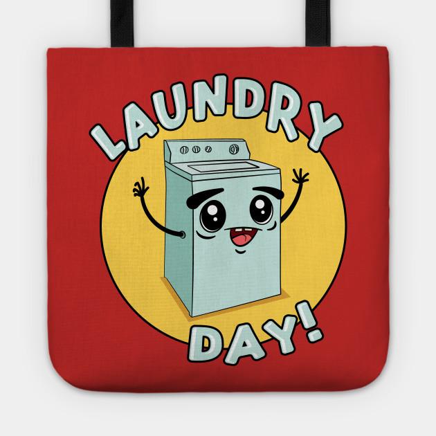 Laundry Day Cute Kawaii Washing Machine