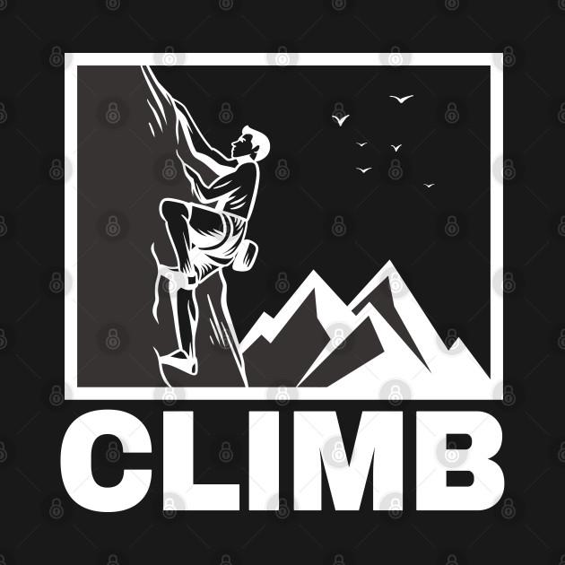 Climb Illustration Mountain Climber