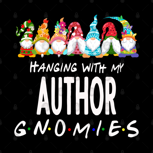 Hanging With My Author Gnomes
