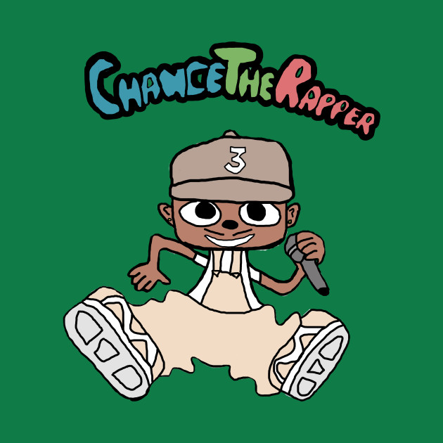 Chance The Rapper parappa style