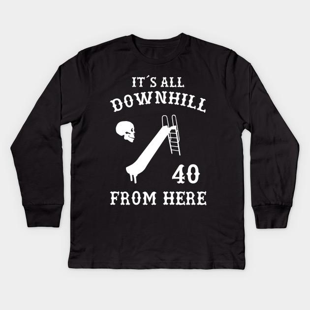 40th Birthday T Shirt Gift