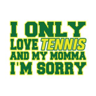 Gods Plan - Tennis! t-shirts