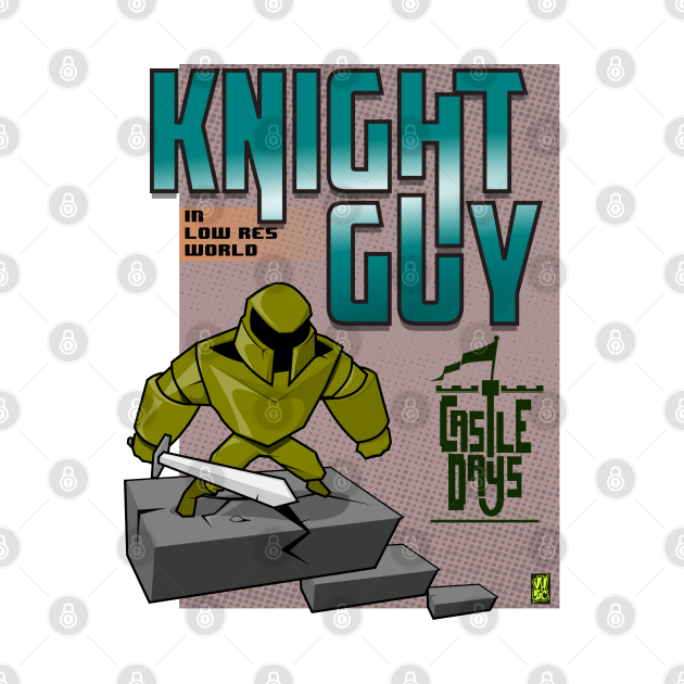 Knight Guy in low res world