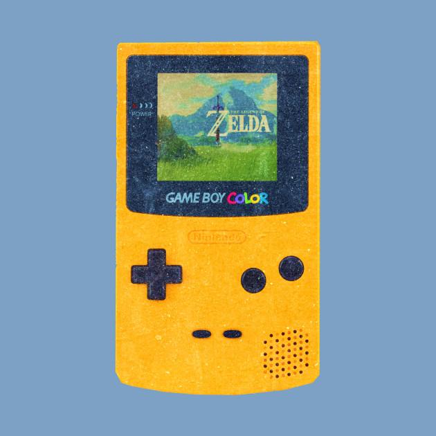 Zelda on Game Boy Color breath of the wild