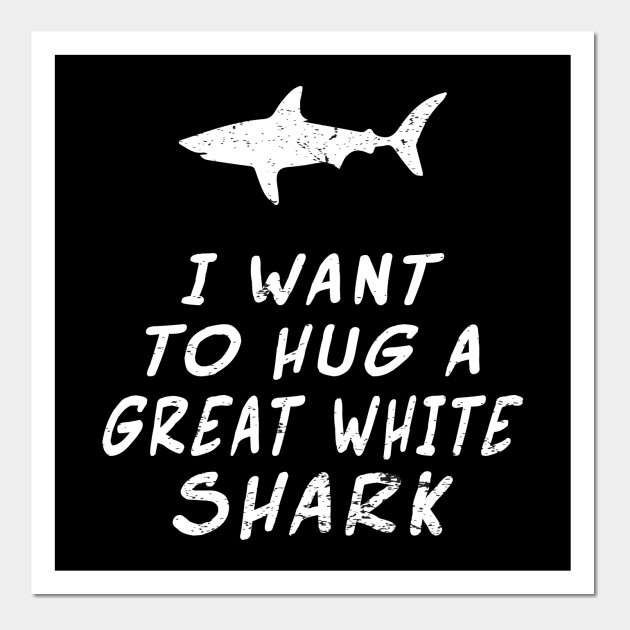 1e5585e87c537d Great White Shark Funny Shirt Kids Boys Girls and Adults - Great ...