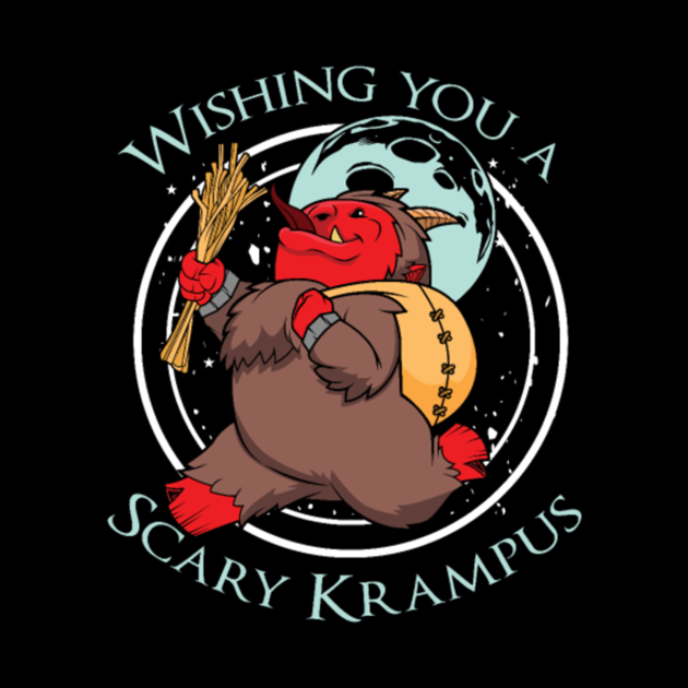 Scary Krampus Christmas Halloween Horror Holiday