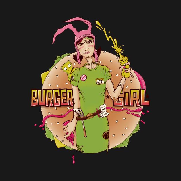 Louise - The Punk Rock Burger Girl