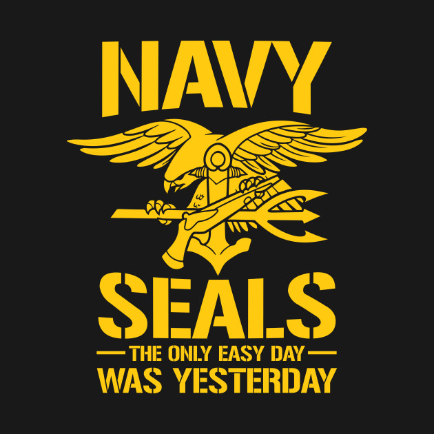 Navy seals easy day navyseals t shirt teepublic for I can only please one person per day t shirt