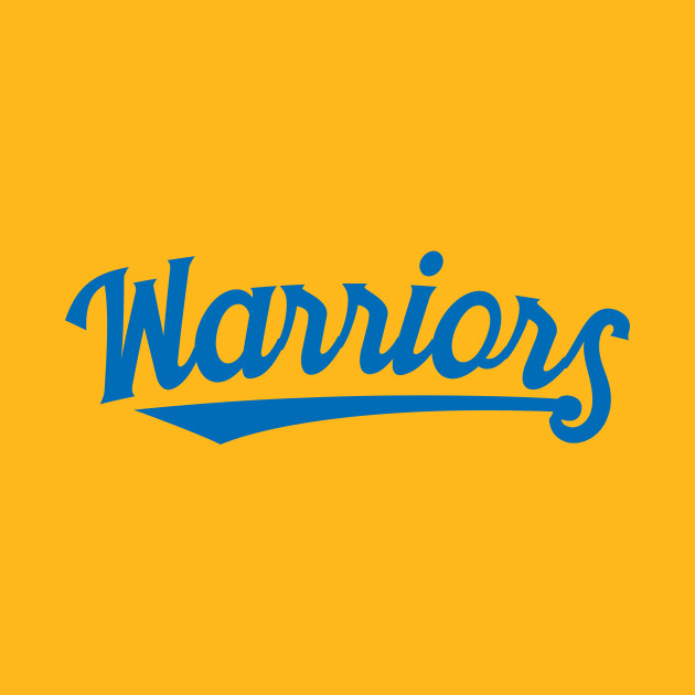 Warriors (blue swooping)