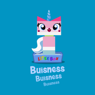 Lady Unikitty Conducts her Buisness t-shirts