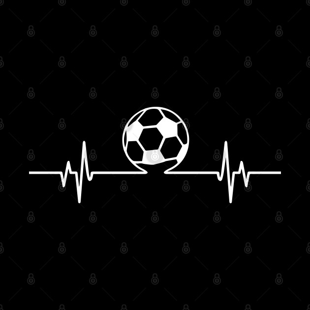 Soccer Lover Cool Heartbeat