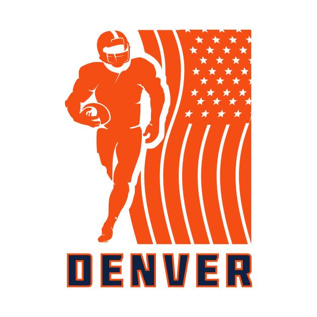 NFL Denver Broncos Football Team Color