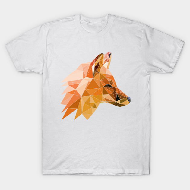 Low Poly Fox - Low Poly - T-Shirt  6100d3a4380