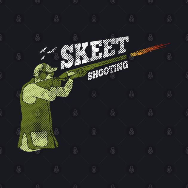 clay pigeon shooting skeet trap