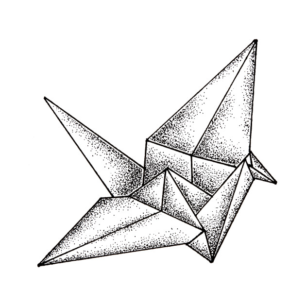 Origami Crane Origami T Shirt Teepublic