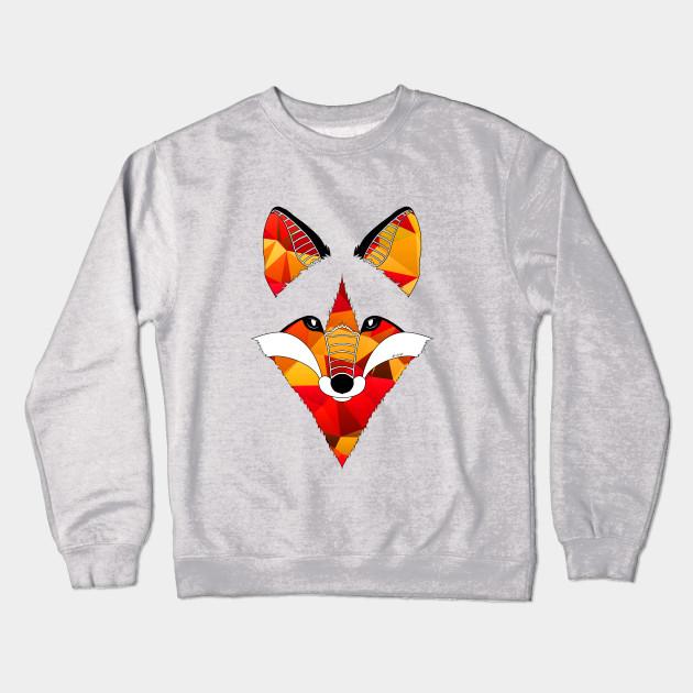 b8c81146ebda Fire Fox - Art And Be - Crewneck Sweatshirt