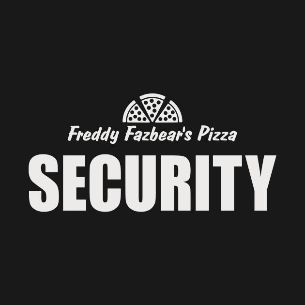 Freddy's Fazbear Pizza Security T-Shirt