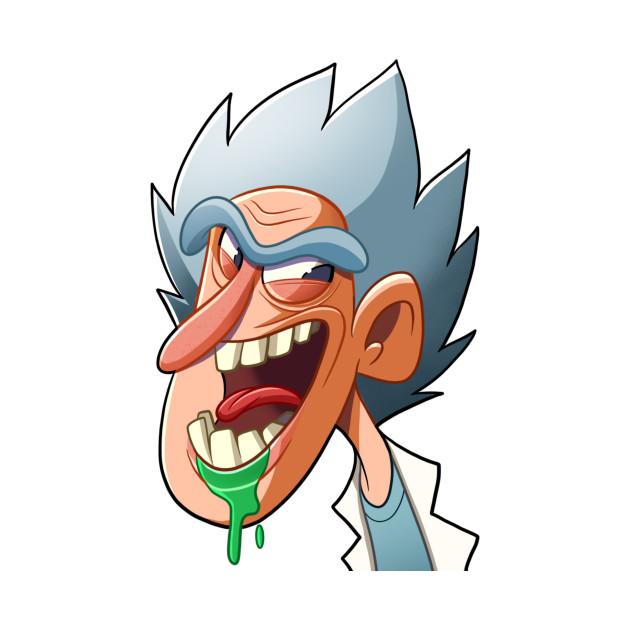 Rick and Morty Profile - Rick And Morty - T-Shirt | TeePublic