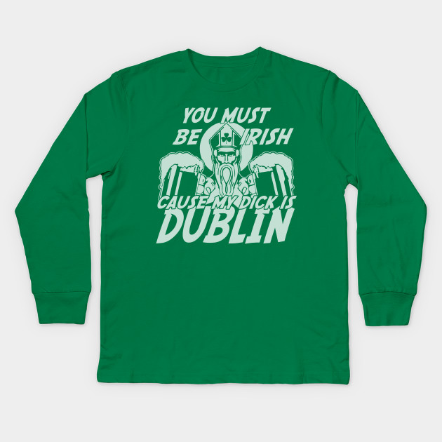 Dublin Vision Irish St Paddys Drinking Party Gray Crewneck Sweatshirt