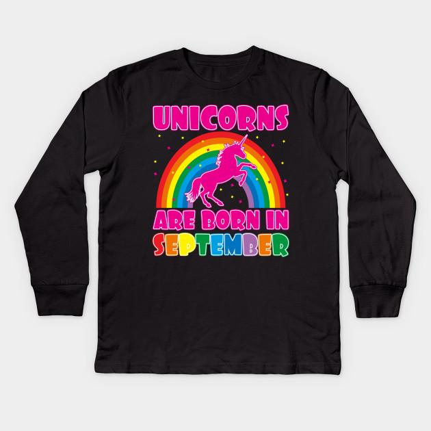 9997c0353 Unicorns Are Born In September - Unicorns Are Born In September ...
