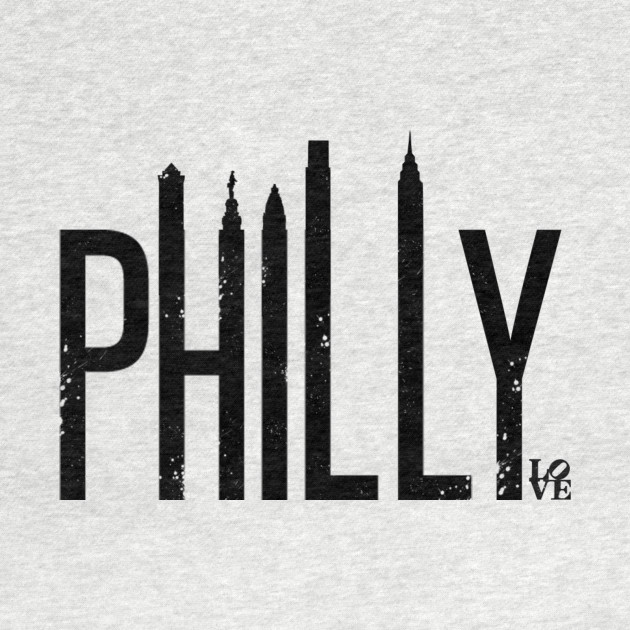 Philly Skyline (Distressed)