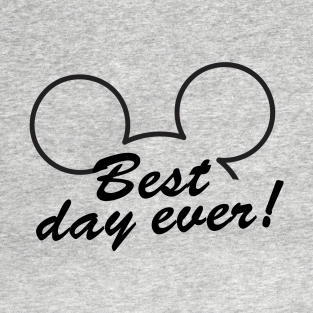 38157142 Disney Mickey Ears Best Day Ever T-Shirt