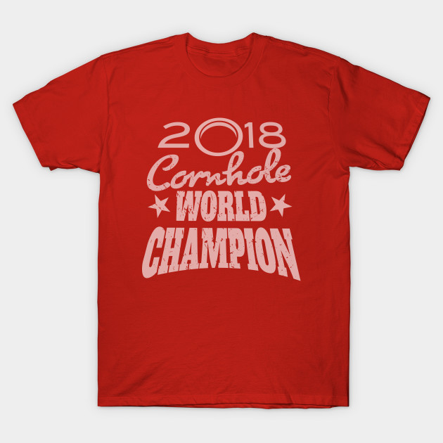 0b65fbce5 Cornhole Champion - Cornhole - T-Shirt | TeePublic