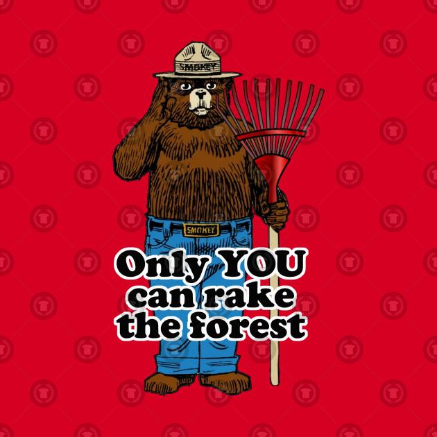 Smokey Bear with Rake