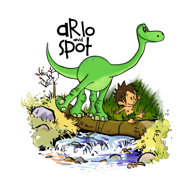 arlo and spot the good dinosaur t shirt teepublic. Black Bedroom Furniture Sets. Home Design Ideas