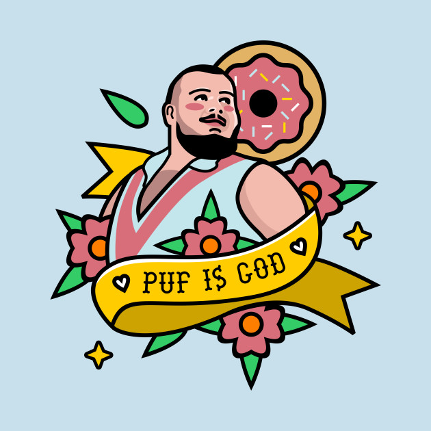 Puf is God Tattoo