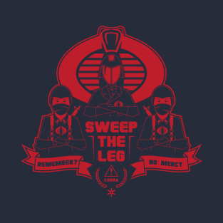 Cobra - Sweep The Leg t-shirts
