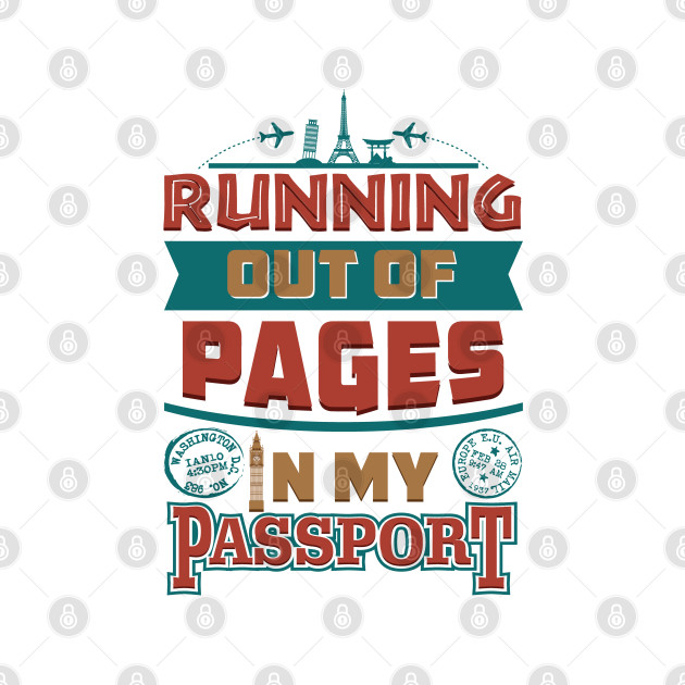 Out Of Passport Pages