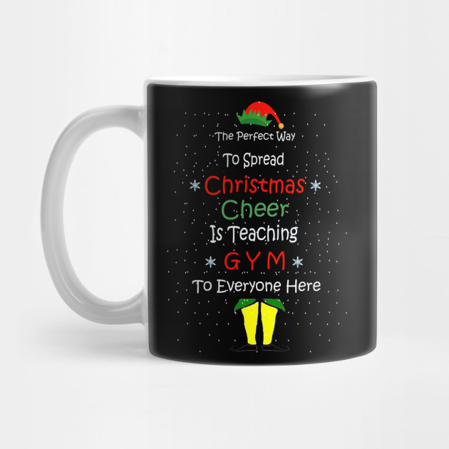 christmas cheer merry christmas , gym teacher christmas gift Mug