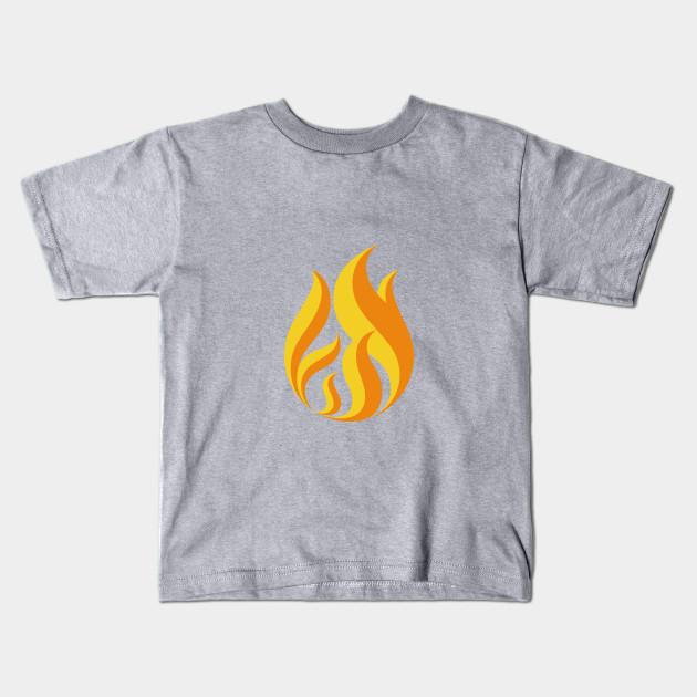f7cabc799 On Fire shirt Fire flame - Flame - Kids T-Shirt | TeePublic