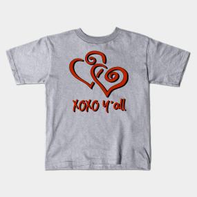 38b84e624e06 Hugs And Kisses Kids T-Shirts | TeePublic
