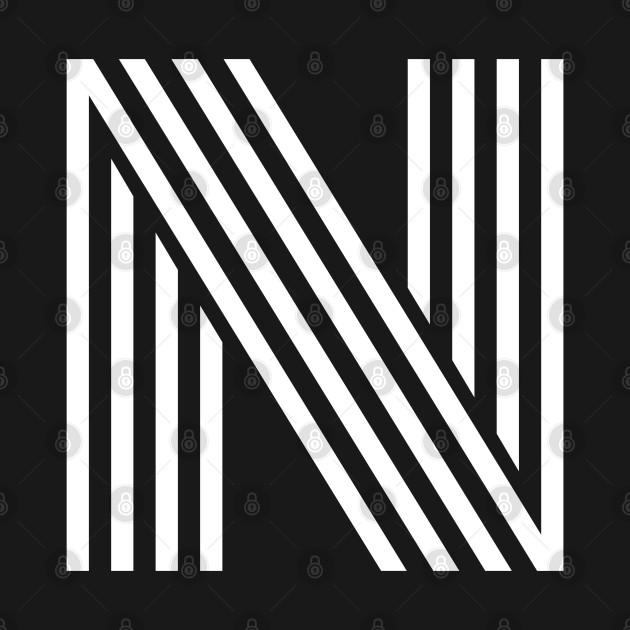 Alphabet N (Uppercase letter n), Letter N