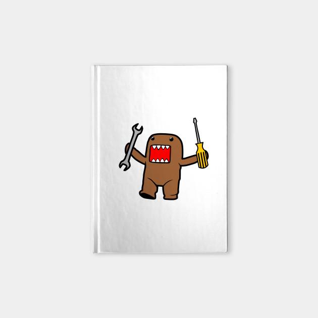 jdm domo monster jdm domo monster notebook teepublic