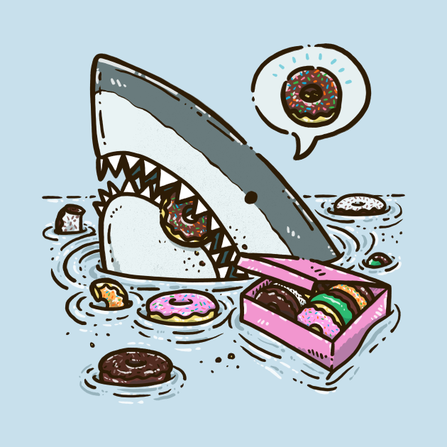 Box of Donuts Shark