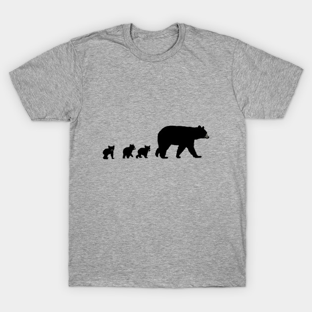 82e17b8f8 Mama Bear and Her Cubs - Mama Bear And Cubs - T-Shirt | TeePublic