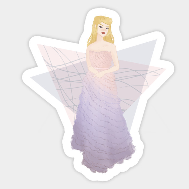 Disney S Sleeping Beauty Aurora Sleeping Beauty Sticker Teepublic