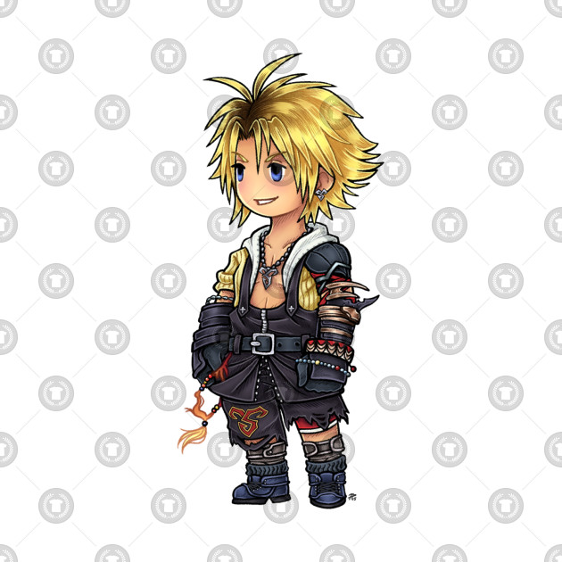 FF3 Styled Tidus